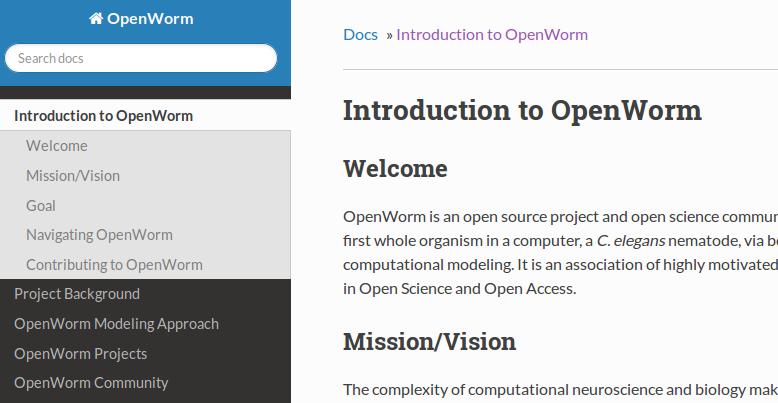 Openworm Science